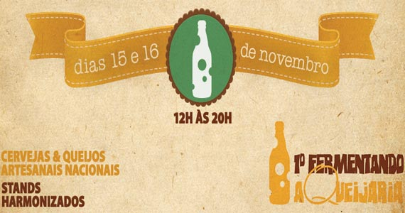 1º Fermentando A Queijaria com queijos e cervejas artesanais aberto ao público Eventos BaresSP 570x300 imagem