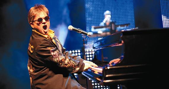 Com o espetáculo Rocket Man, o maestro Rogério Martins homenageia Elton John Eventos BaresSP 570x300 imagem