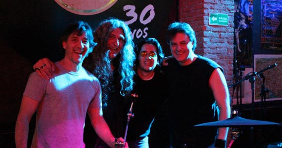 Tito Martino Jazz Band e Rocktopus no palco do bar O Garimpo Eventos BaresSP 570x300 imagem