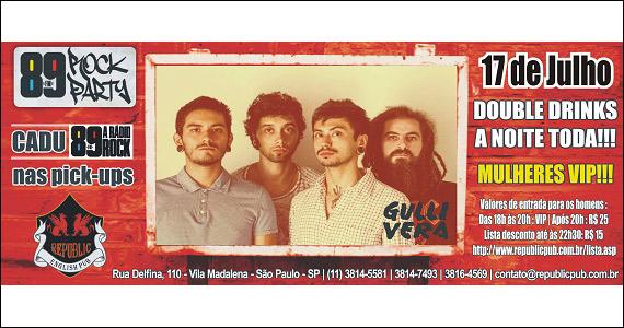 Republic Pub recebe a banda Gullivera e DJ Cadu na quinta Eventos BaresSP 570x300 imagem