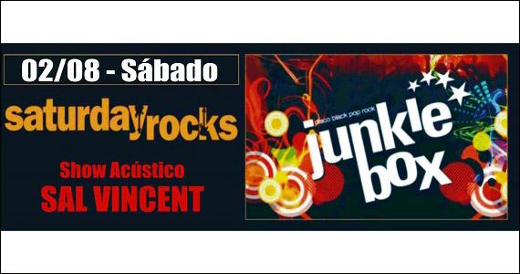Republic Pub recebe Sal Vincent e Banda Junkie Box na noite de sábado Eventos BaresSP 570x300 imagem