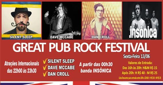Acontece o Great Pub Rock Festival na sexta-feira no Republic Pub Eventos BaresSP 570x300 imagem
