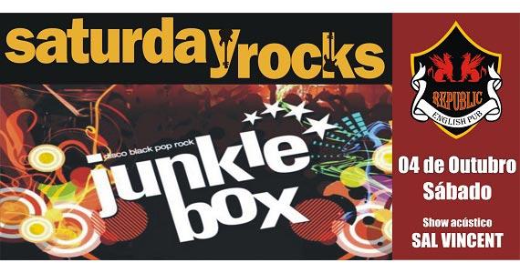 Sal Vincent e banda Junkie Box animam a noite de sábado no Republic Pub Eventos BaresSP 570x300 imagem