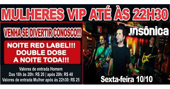 Sal Vincente e banda Insônica na Noite do Red Label no Republic Pub nesta sexta-feira Eventos BaresSP 570x300 imagem