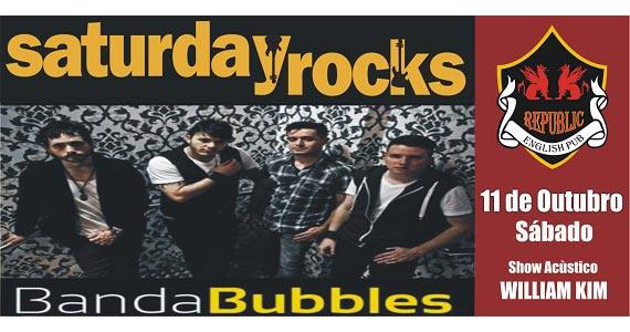 William Kim e banda Bubbles animam a noite de sábado no Republic Pub Eventos BaresSP 570x300 imagem