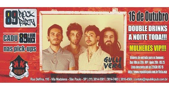 Banda Gullivera anima o projeto da 89 Rock Party nesta quinta do Republic Pub Eventos BaresSP 570x300 imagem