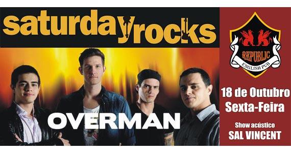 Sal Vincent e banda Overman se apresentam neste sábado no Republic Pub Eventos BaresSP 570x300 imagem