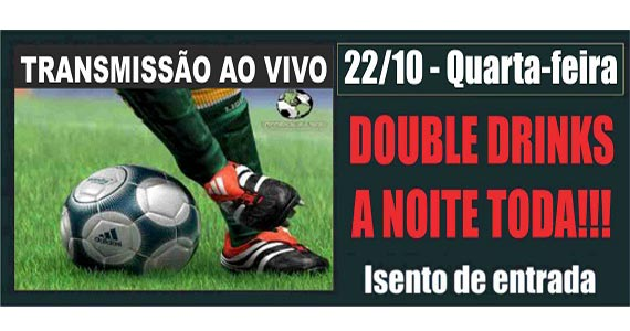 Clássicos do futebol nesta quarta-feira no telão do Republic Pub Eventos BaresSP 570x300 imagem