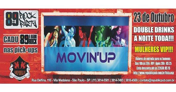 Banda Movin'UP comanda o projeto 89 Rock Party no Republic Pub Eventos BaresSP 570x300 imagem