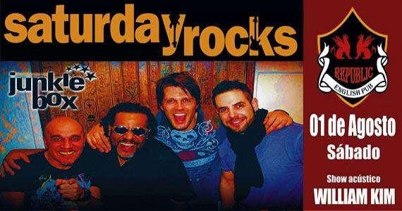 Sal Vincent e banda Junkie Box com o melhor do pop rock no Republic Pub Eventos BaresSP 570x300 imagem