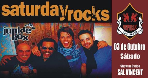 Banda Junkie Box e Sal Vincent com muito pop rock animando o Republic Pub Eventos BaresSP 570x300 imagem
