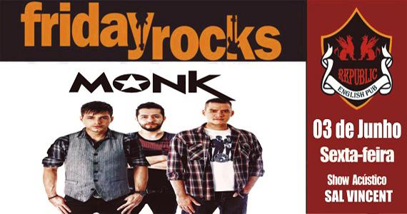 William Kim e Banda Monk comandam a noite com clássicos do rock no Republic Pub Eventos BaresSP 570x300 imagem