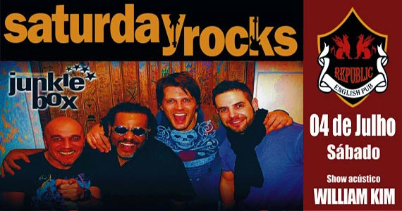 Sal Vincent e Banda Junkie Box no Republic Pub no sábado Eventos BaresSP 570x300 imagem