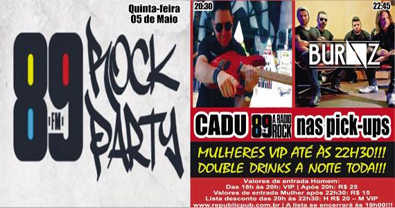 Republic Pub recebe banda Burnz e DJ Cadu para animar a quinta-feira no Republic Pub Eventos BaresSP 570x300 imagem