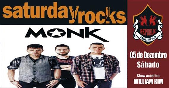 Sal Vincent e banda Monk agitam o sábado do Republic Pub Eventos BaresSP 570x300 imagem