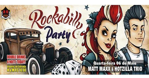 Banda Matt Maxx & Hotzilla Trio na festa Rockabilly no Republic Pub Eventos BaresSP 570x300 imagem