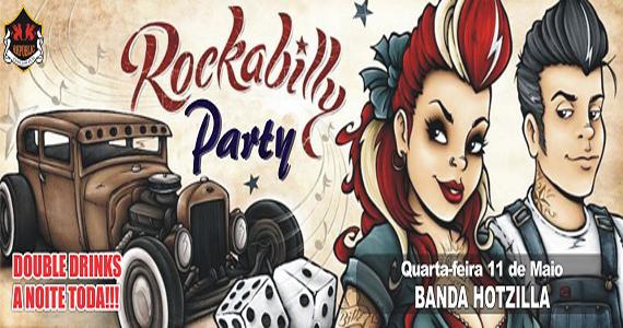 Banda Hotzilla se apresenta no palco do Republic Pub com clássicos do rock Eventos BaresSP 570x300 imagem