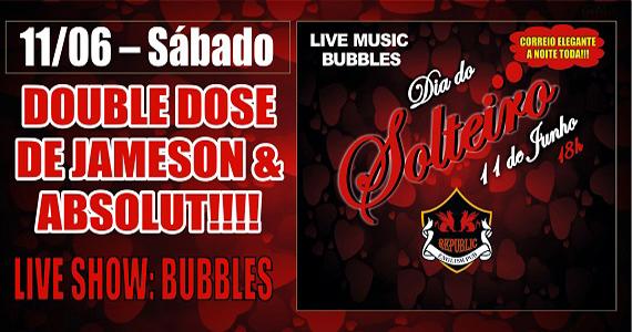 Republic Pub recebe a banda Bubbles e Sal Vincent com pop rock no Dia do Solteiro Eventos BaresSP 570x300 imagem