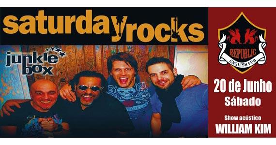 Sal Vincent e banda Junkie Box com o melhor do rock no Republic Pub Eventos BaresSP 570x300 imagem