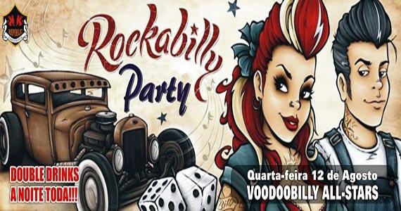 Banda Voodoobilly All-Stars comanda a Rockabilly Party no Republic Pub Eventos BaresSP 570x300 imagem