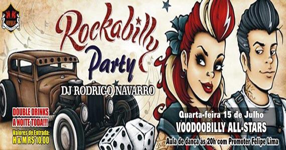 Festa Rockabilly Party recebe a banda Voodoobilly All-Stars no Republic Pub Eventos BaresSP 570x300 imagem