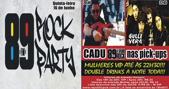 Banda Gullivera e DJ Cadu comandam a quinta com pop rock no Republic Pub Eventos BaresSP 570x300 imagem