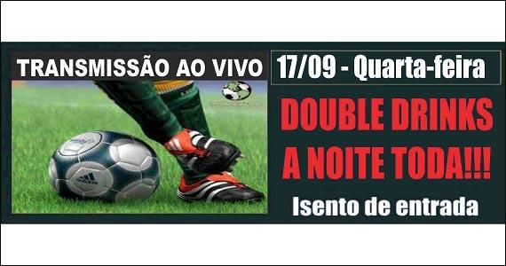 Republic Pub transmite os jogos de futebol na quarta-feira  Eventos BaresSP 570x300 imagem