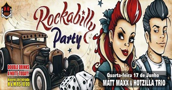 Rockabilly Party recebe a banda Matt Maxx & Hotzilla Trio no Republic Pub na quarta Eventos BaresSP 570x300 imagem