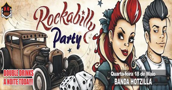 Banda Hotzilla comanda a quarta-feira na Rockbilly Party no Republic Pub Eventos BaresSP 570x300 imagem