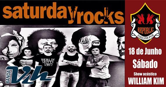 Republic Pub recebe banda Vih e William Kim com muito pop rock Eventos BaresSP 570x300 imagem