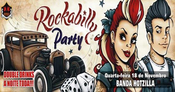 Rockabilly Party com a banda Hotzilla tocando o melhor do pop rock no Republic Pub Eventos BaresSP 570x300 imagem