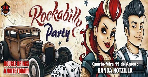 Rockabilly Party com a banda Hotzilla no Republic Pub quarta-feira Eventos BaresSP 570x300 imagem