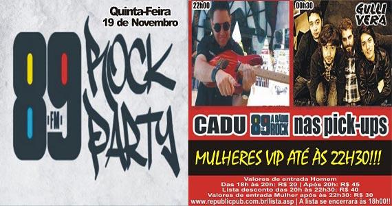 Banda Gullivera e DJ Cadu comandam a quinta-feira com pop rock no Republic Pub Eventos BaresSP 570x300 imagem
