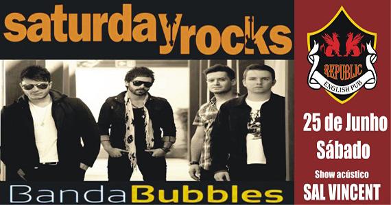 Republic Pub recebe a banda Bubbles e Sal Vincent com muito pop rock Eventos BaresSP 570x300 imagem