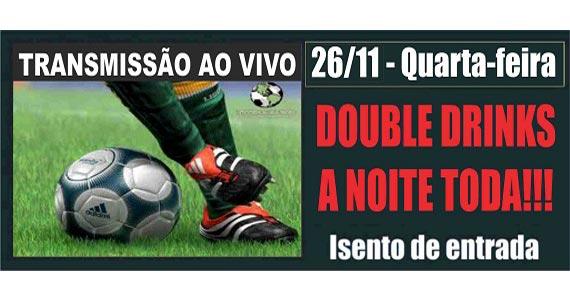 Futebol ao vivo no telão toda quarta-feira no Republic Pub Eventos BaresSP 570x300 imagem