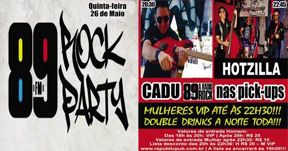 Banda Hotzilla e Dj Cadu comandam a noite com pop rock no Republic Pub Eventos BaresSP 570x300 imagem