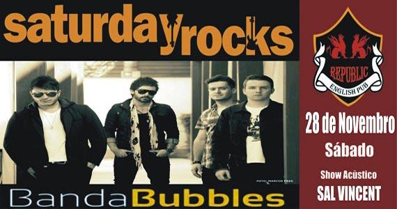 Sal Vincent e Banda Bubbles comandam a noite com pop rock no Republic Pub Eventos BaresSP 570x300 imagem