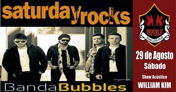 William Kim e banda Bubbles com muito pop rock embalando a noite no Republic Pub Eventos BaresSP 570x300 imagem