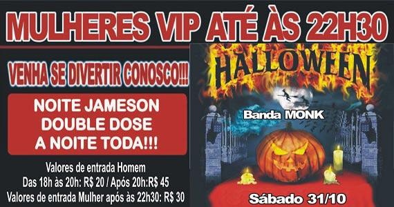 Banda Monk e Sal Vincent comandam o Halloween Party no Republic Pub Eventos BaresSP 570x300 imagem
