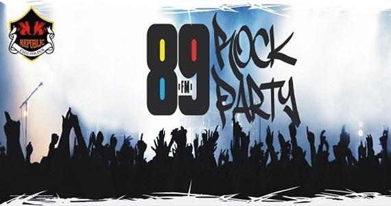 Banda Vih e DJ Cadu animando a festa 89 Rock Party no Republic Pub Eventos BaresSP 570x300 imagem