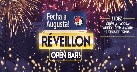 Beco 203 realiza a Fecha Augusta - Edição Festa de Reveillon Eventos BaresSP 570x300 imagem