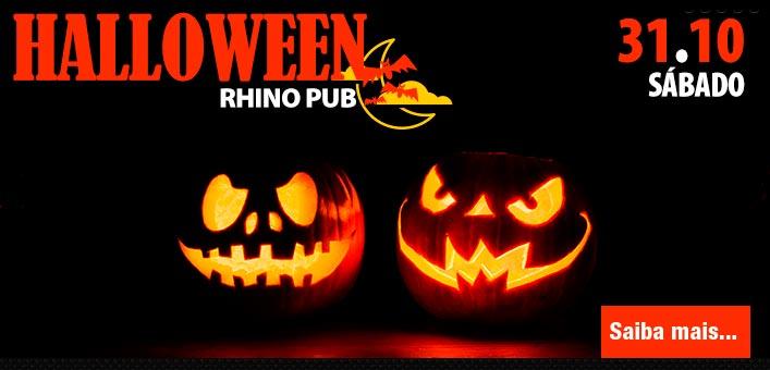Rhino Pub comemora Noite de Halloween com muitas atrações no sábado Eventos BaresSP 570x300 imagem