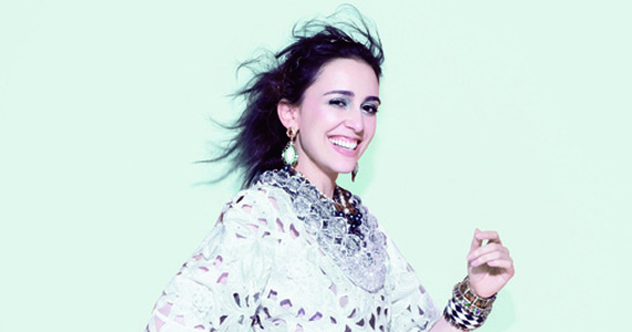 A cantora Roberta Sá apresenta seu novo álbum Segunda Pele no Sesc Belenzinho Eventos BaresSP 570x300 imagem