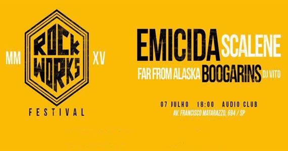 Audio Club realiza Festival Rock Works com Emicida e convidados Eventos BaresSP 570x300 imagem