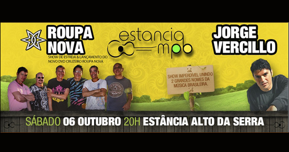 Shows de Roupa Nova e Jorge Vercillo no palco do Estância Alto da Serra Eventos BaresSP 570x300 imagem
