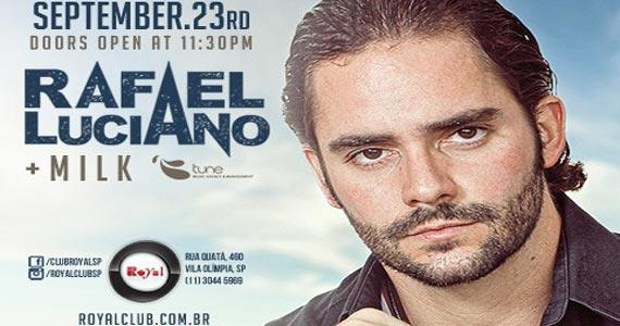 Club Royal recebe DJs Rafael Luciano e Milk para comandar a noite de terça-feira Eventos BaresSP 570x300 imagem