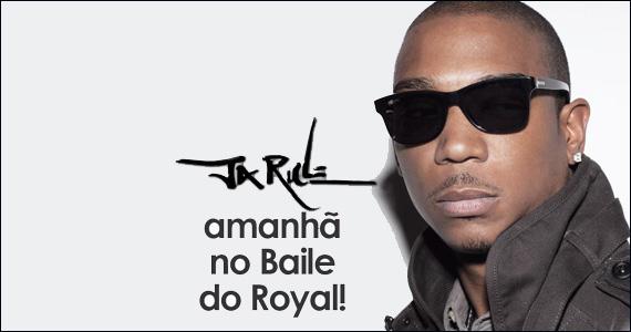 Royal recebe a atração internacional Ja Rule nesta terça-feira  Eventos BaresSP 570x300 imagem
