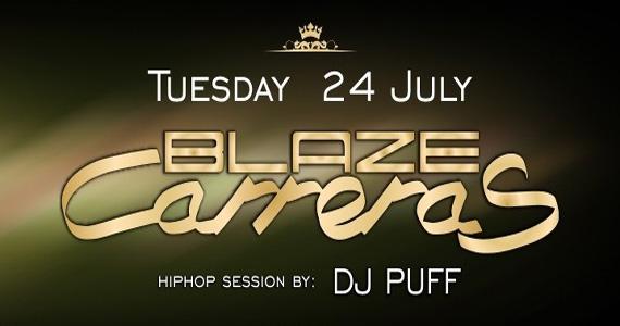 Club Royal recebe nesta terça-feira o DJ Blaze Carreras Eventos BaresSP 570x300 imagem