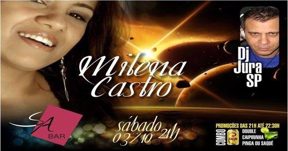 S/A Club Bar apresenta show de Milena Castro e convidados no sábado Eventos BaresSP 570x300 imagem