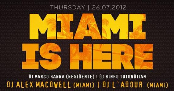 Club SET recebe a festa Miami is Here nesta quinta-feira Eventos BaresSP 570x300 imagem